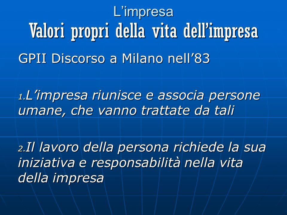 Limpresa GPII Discorso a Milano nell83 1.