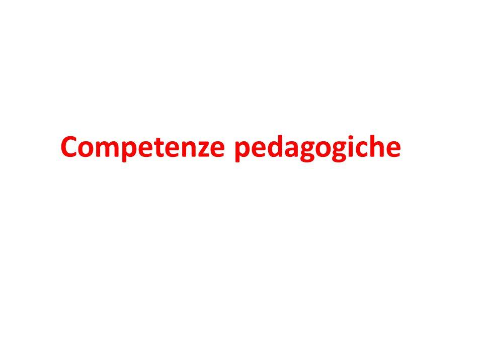 Competenze pedagogiche