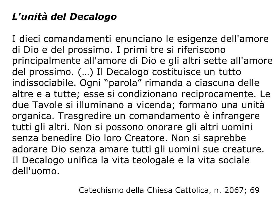 L obbligo della domenica Il precetto della Chiesa definisce e precisa la legge del Signore: La domenica e le altre feste di precetto i fedeli sono tenuti all obbligo di partecipare alla Messa [Codice di Diritto Canonico, 1247].