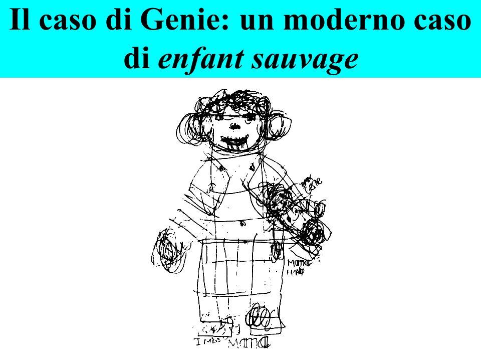Il caso di Genie: un moderno caso di enfant sauvage