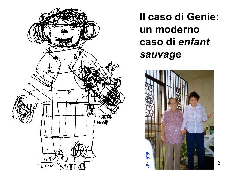 12 Il caso di Genie: un moderno caso di enfant sauvage