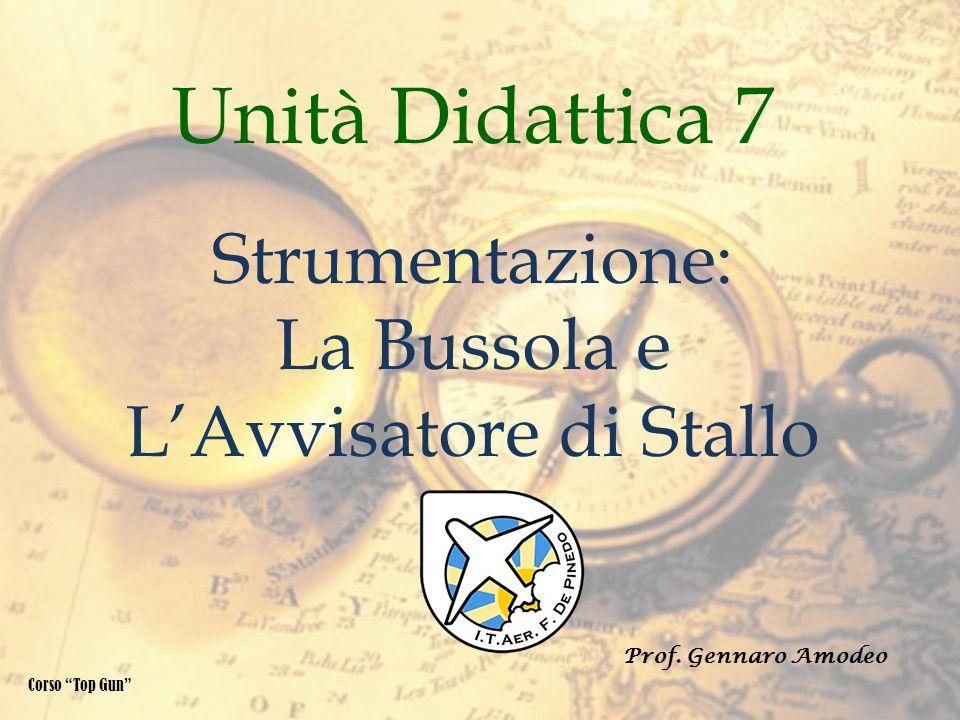 Unità Didattica 7 Strumentazione: La Bussola e LAvvisatore di Stallo Corso Top Gun Prof. Gennaro Amodeo