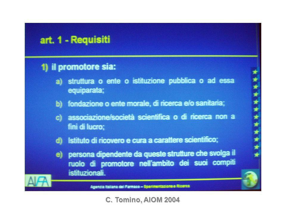 C. Tomino, AIOM 2004
