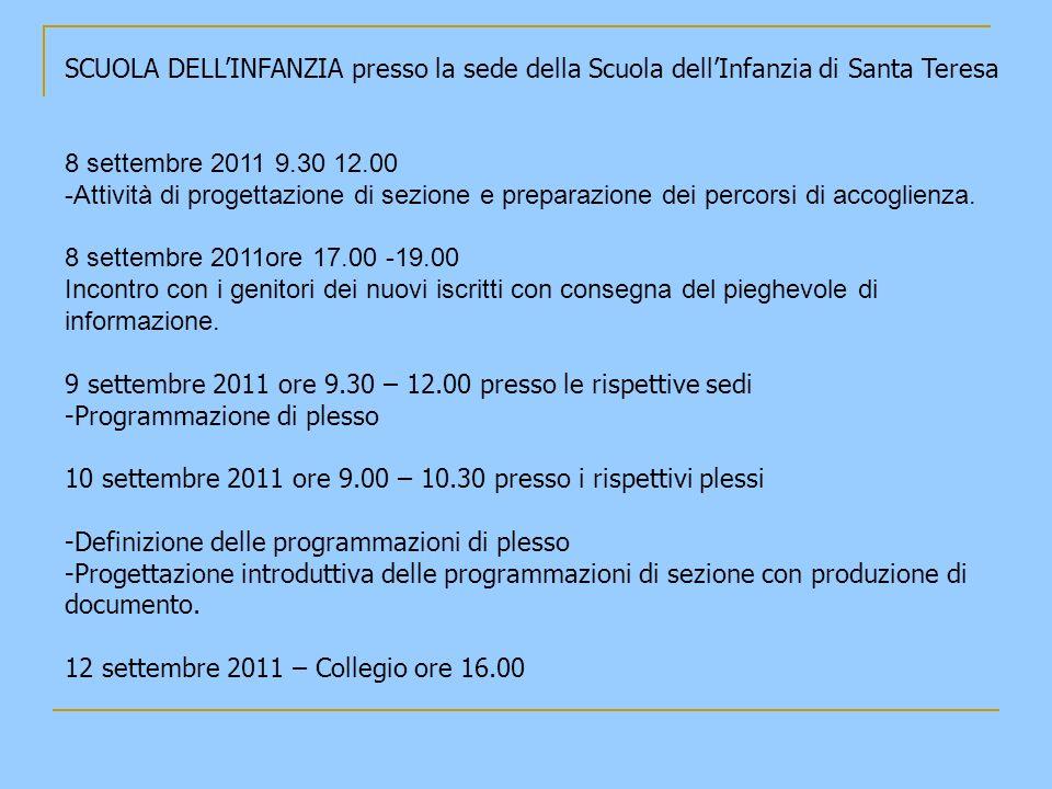 A TUTTI BUON ANNO SCOLASTICO 2011/2012