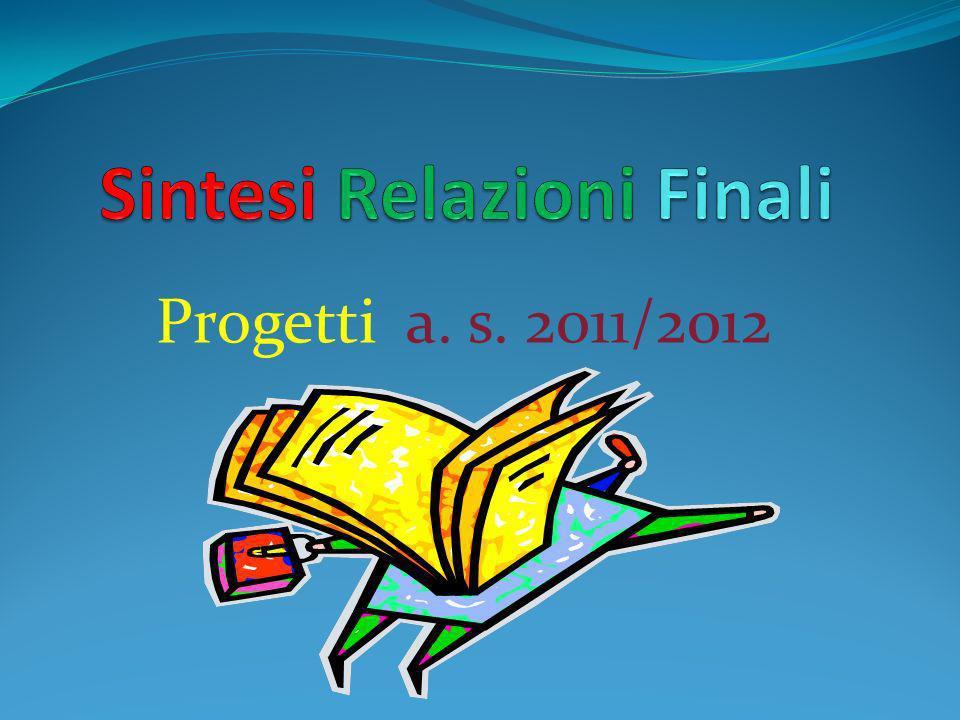 Progetti a. s. 2011/2012