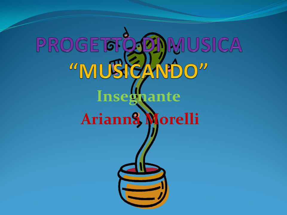 Insegnante Arianna Morelli