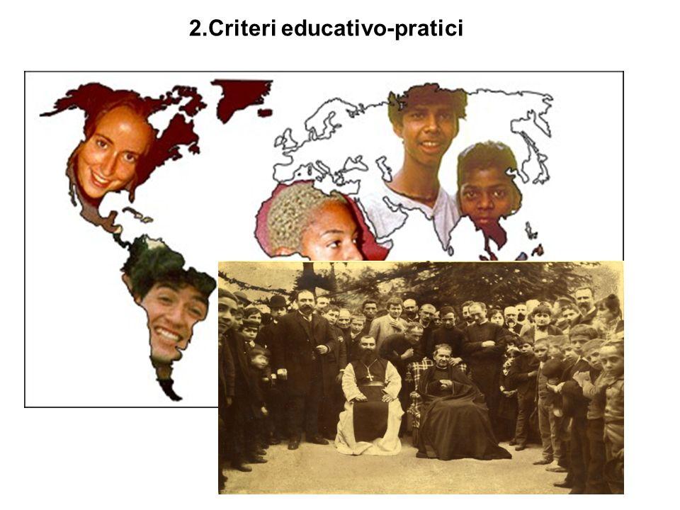 2.Criteri educativo-pratici