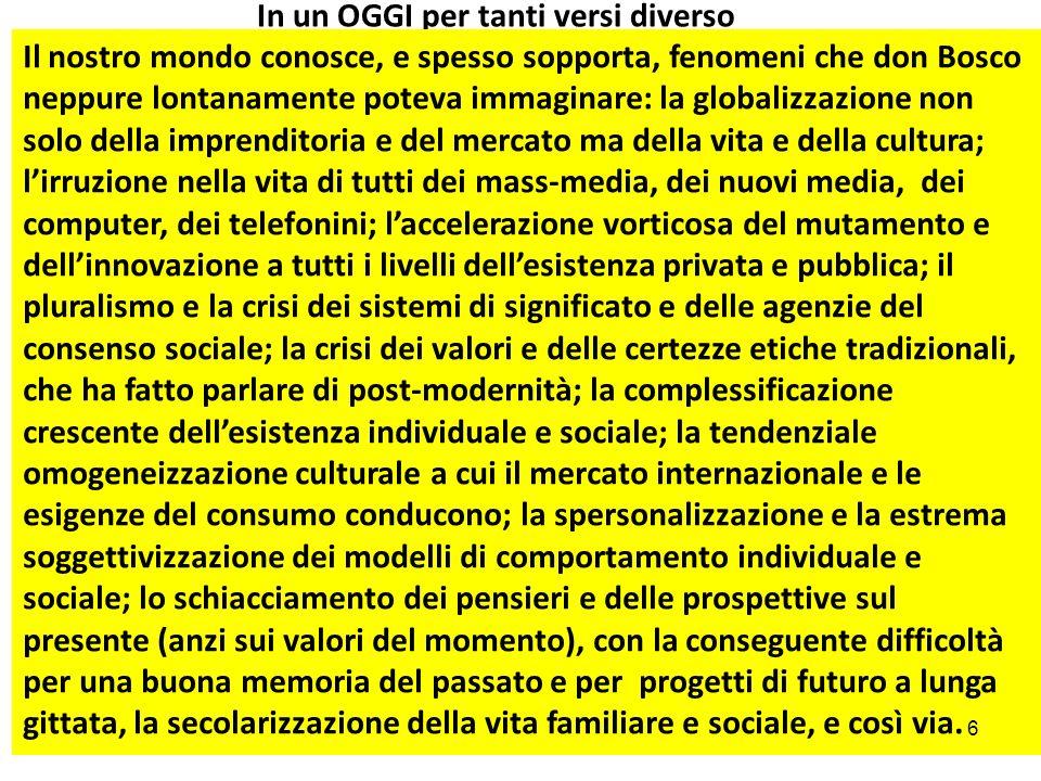 III.RIPENSARE MODI E FORME DELLEDUCAZIONE 1.