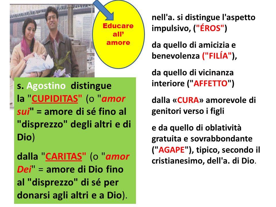 s. Agostino distingue la