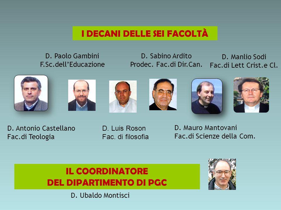D.Antonio Castellano Fac.di Teologia D. Sabino Ardito Prodec.