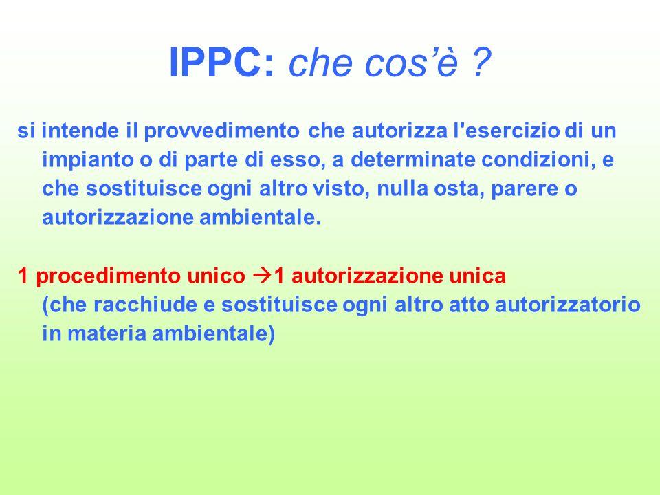 IPPC: che cosè .