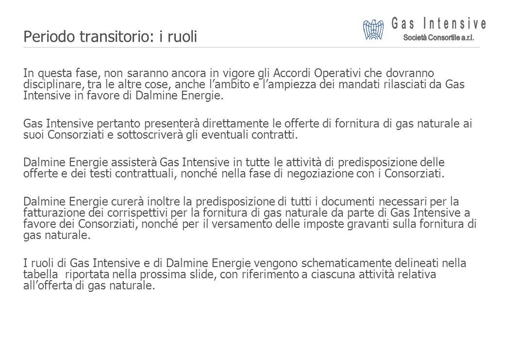 ©2004 Dalmine Energie | Page 16 | Periodo transitorio: i ruoli In questa fase, non saranno ancora in vigore gli Accordi Operativi che dovranno discipl