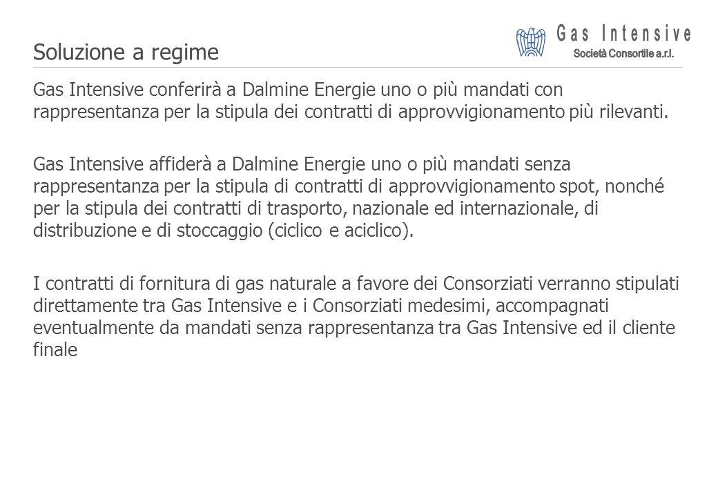 ©2004 Dalmine Energie | Page 20 | Soluzione a regime Gas Intensive conferirà a Dalmine Energie uno o più mandati con rappresentanza per la stipula dei