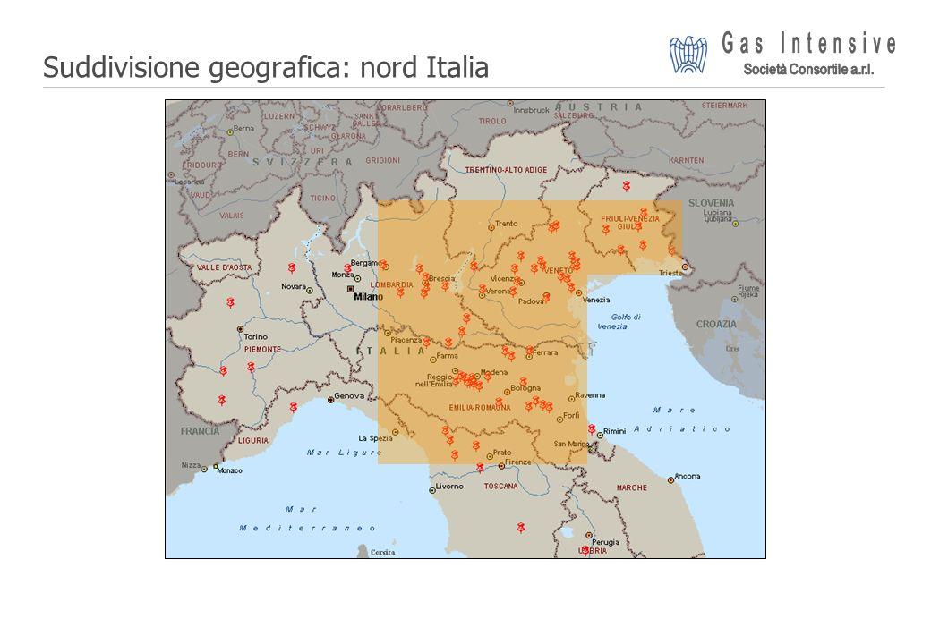 ©2004 Dalmine Energie | Page 7 | Suddivisione geografica: nord Italia