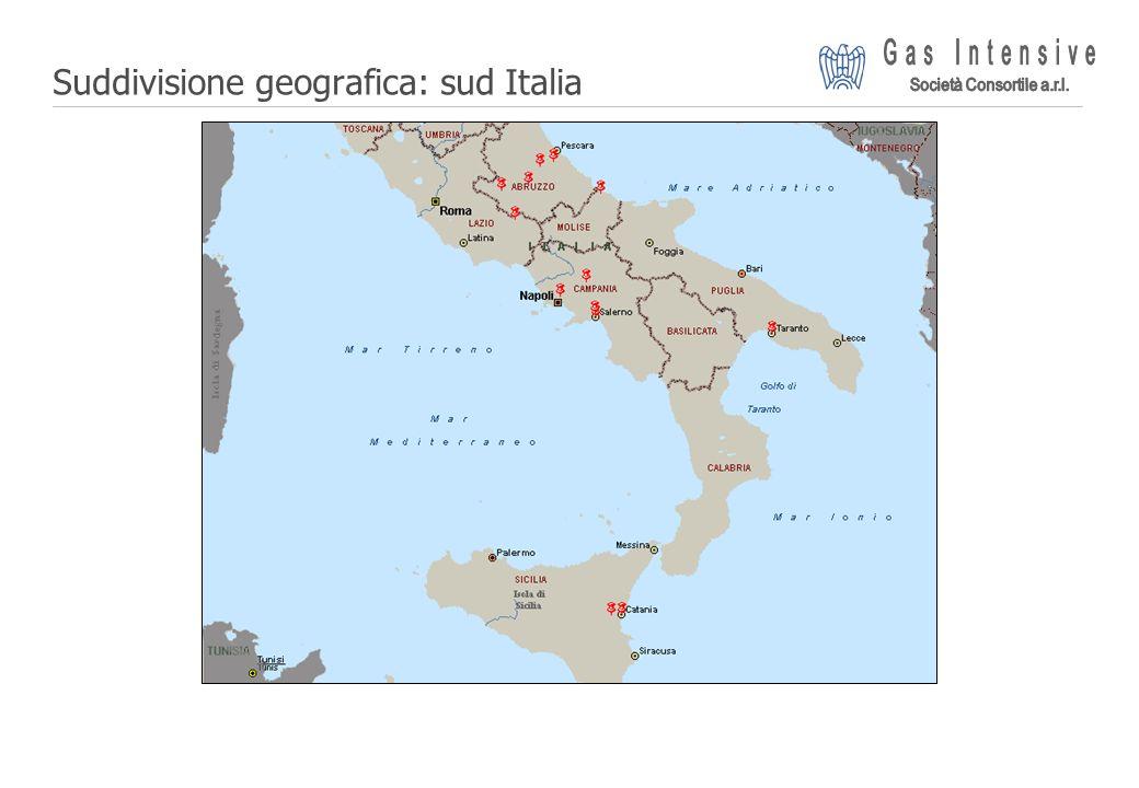 ©2004 Dalmine Energie | Page 8 | Suddivisione geografica: sud Italia
