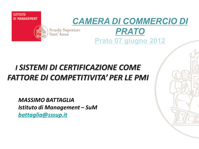 PROGETTO COSMIC: Correlazione Iniziative formali di CSRCSR: ambienteCSR: lavoro CSR: comunità CSR: mercato ISO 14001 EMA S Marc hi etici Altre cert..