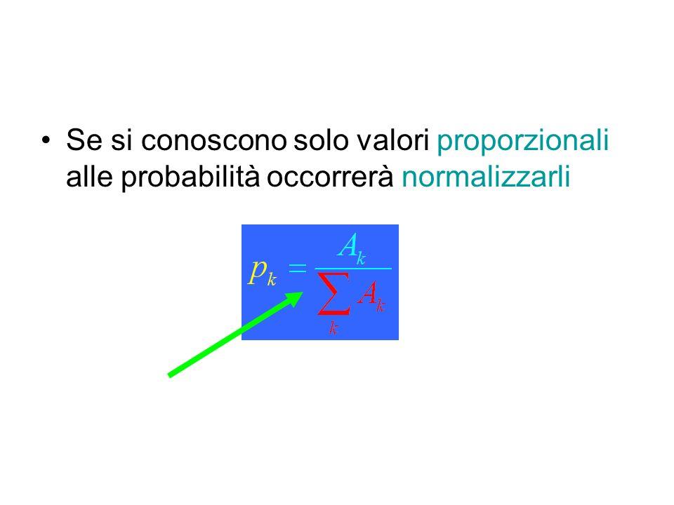 Una variata continua –Assume valori reali in un dominio D con probabilità infinitesima –La è la funzione di distribuzione (spettro) Funzione densità