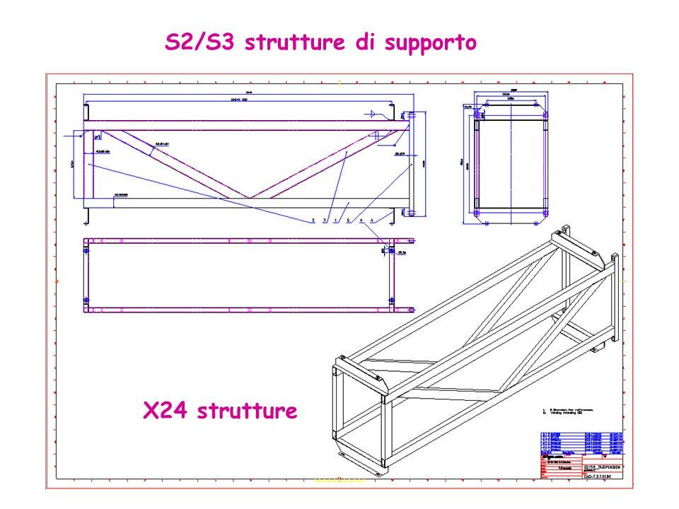X24 strutture S2/S3 strutture di supporto