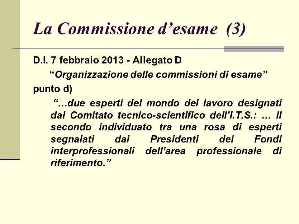 La Commissione desame (4) MLPS e ISFOL hanno predisposto lelenco dei Fondi interprofessionali integrato con i relativi indirizzi.