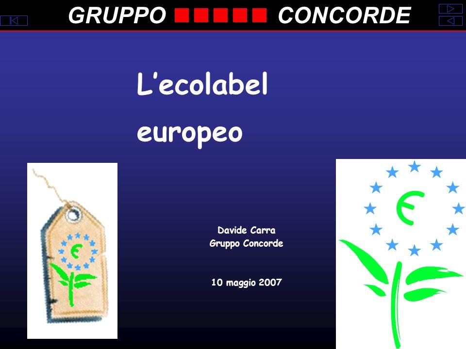 GRUPPOCONCORDE Lecolabel europeo Davide Carra Gruppo Concorde 10 maggio 2007