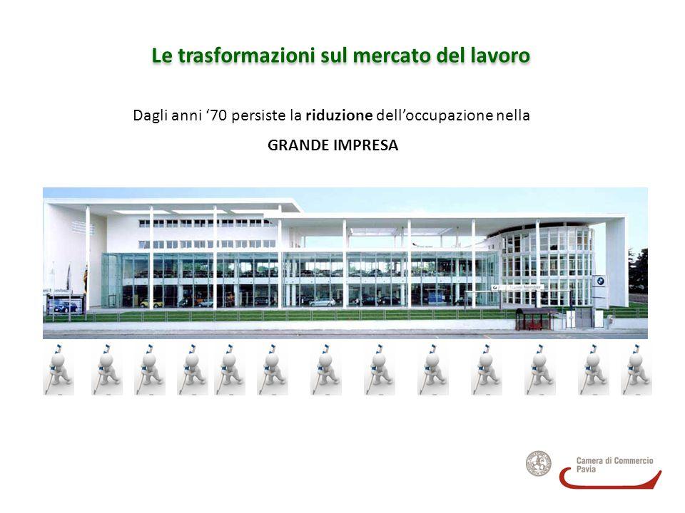 I settori I settori che più richiedono laureati in Lombardia sono quelli del terziario alle imprese e del terziario sociale.