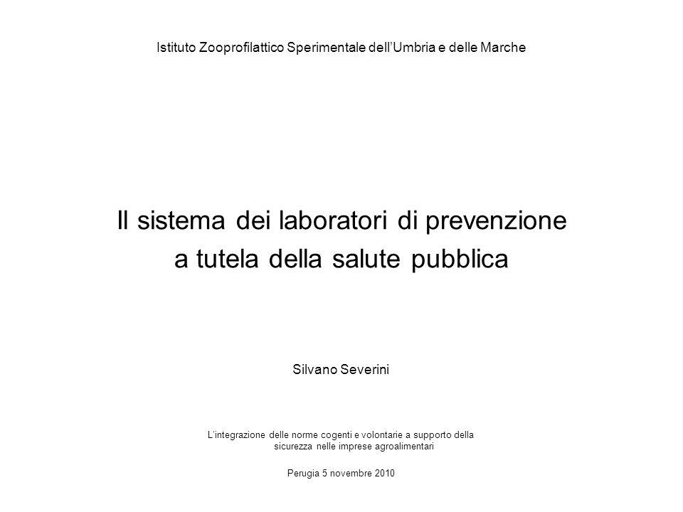 REGOLAMENTO (CE) N.882/2004 del 29 aprile 2004 Articolo 12 Laboratori ufficiali 1.
