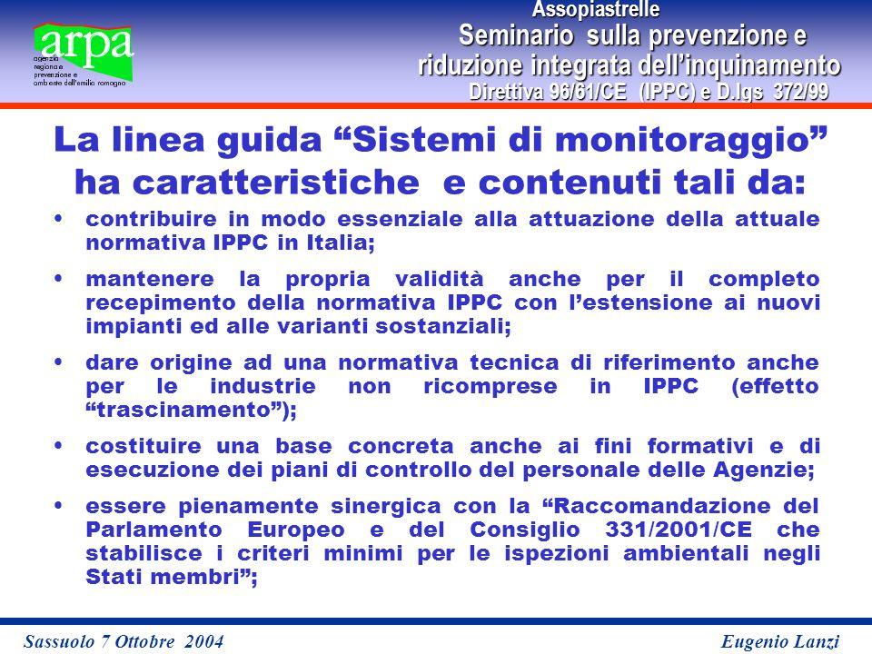 Assopiastrelle Assopiastrelle Seminario sulla prevenzione e Seminario sulla prevenzione e riduzione integrata dellinquinamento Direttiva 96/61/CE (IPP