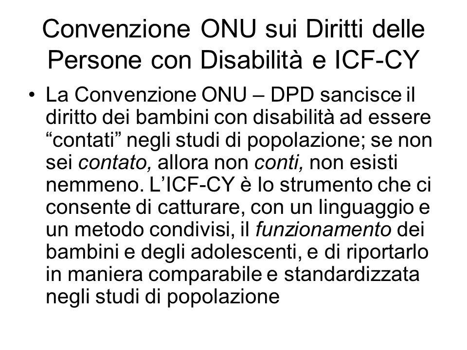 La rivoluzione dellICF Ogni persona in qualunque momento della vita, può avere una condizione di salute che in un contesto sfavorevole diventa disabilità
