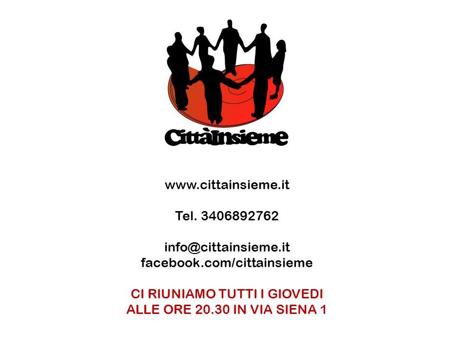 www.cittainsieme.it Tel.