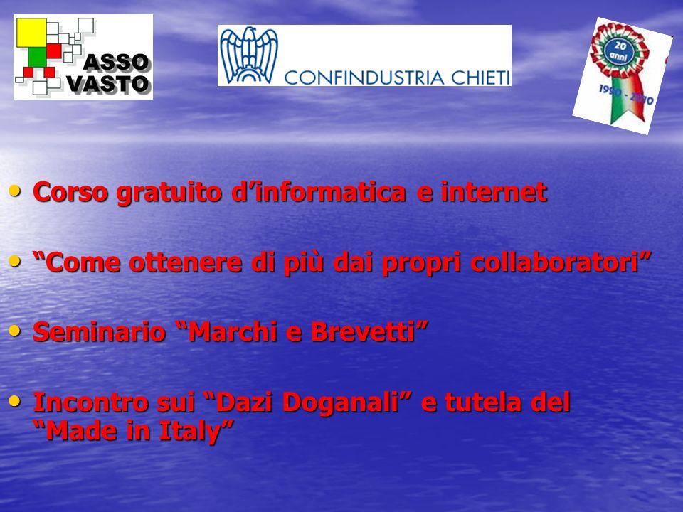 Corso gratuito dinformatica e internet Corso gratuito dinformatica e internet Come ottenere di più dai propri collaboratori Come ottenere di più dai p