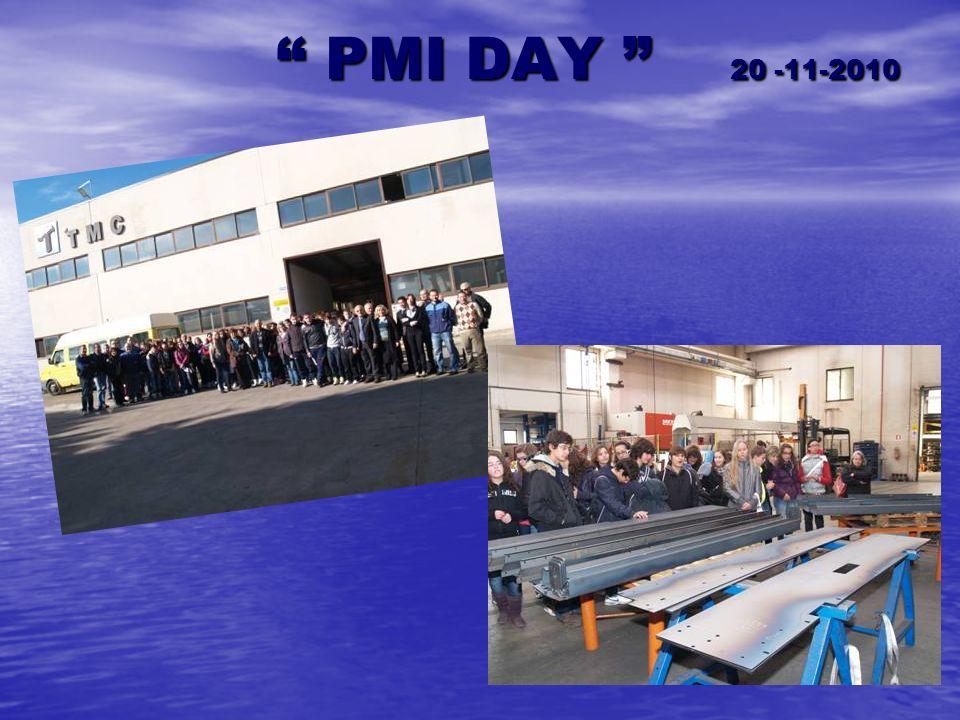 PMI DAY 20 -11-2010 PMI DAY 20 -11-2010