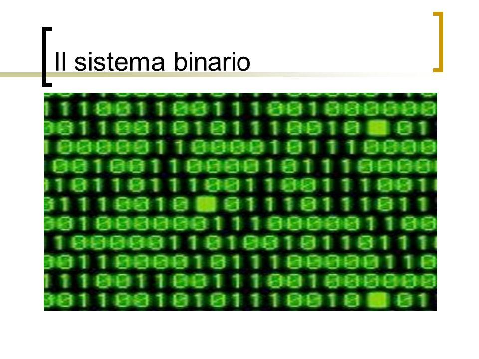 Il sistema binario