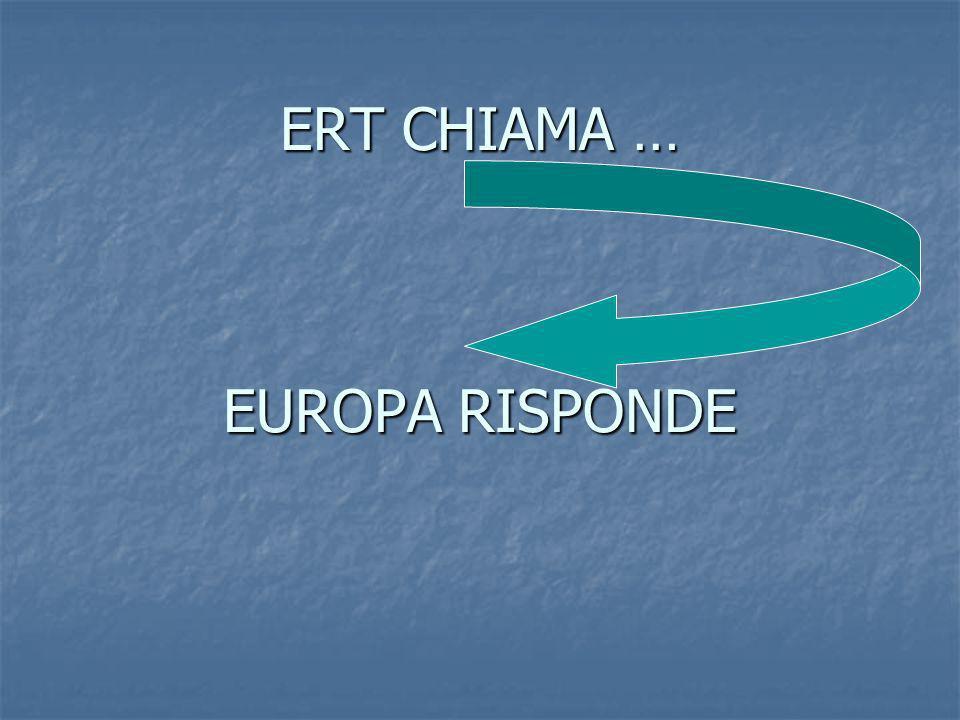 ERT CHIAMA … EUROPA RISPONDE