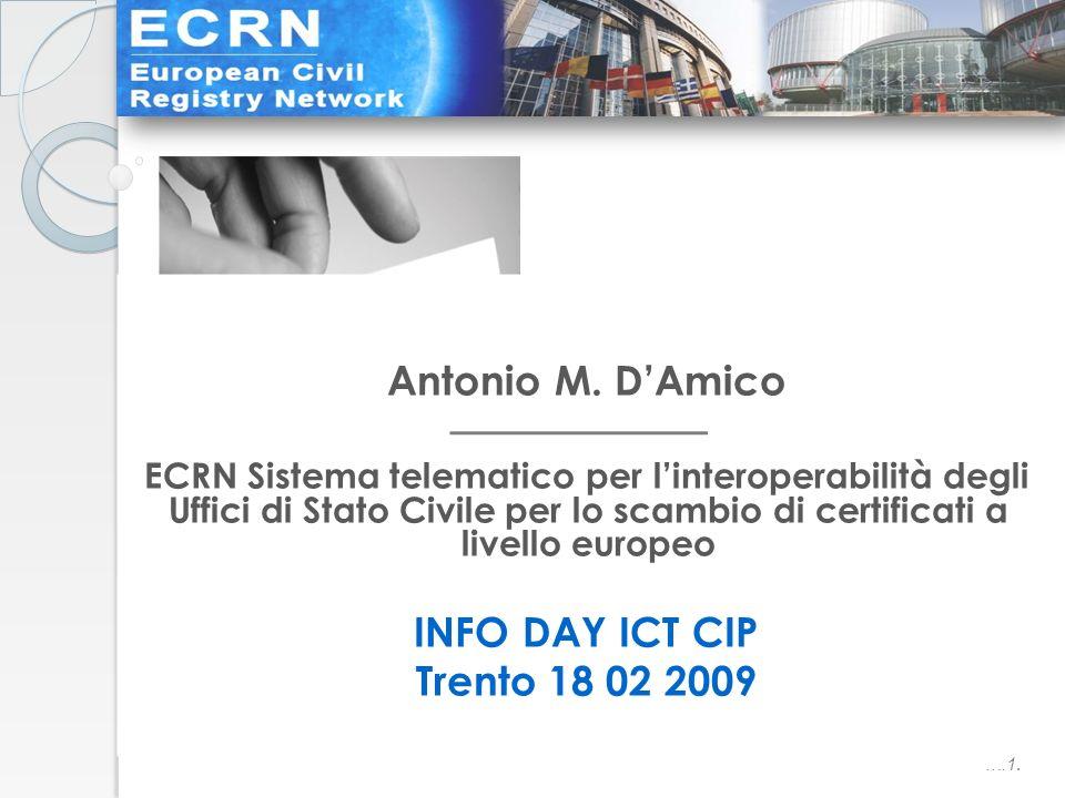 ….1. Antonio M.