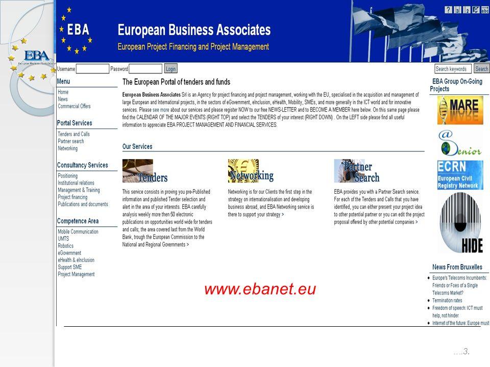 ….3. www.ebanet.eu