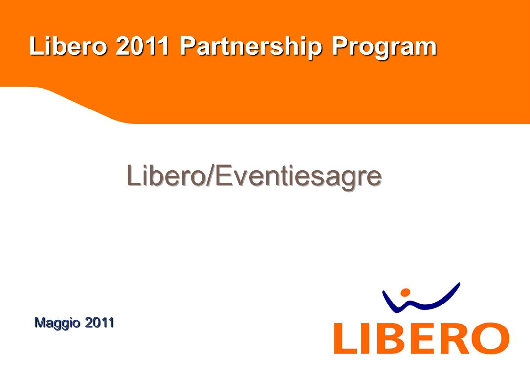 workshop Libero 2011 Partnership Program Maggio 2011