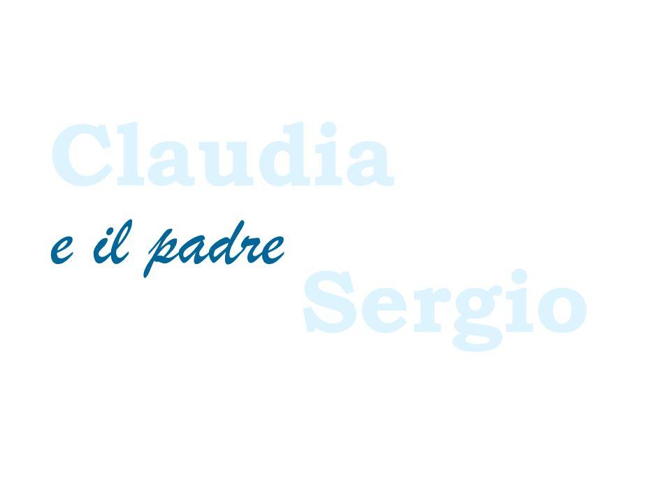 Claudia Sergio e il padre