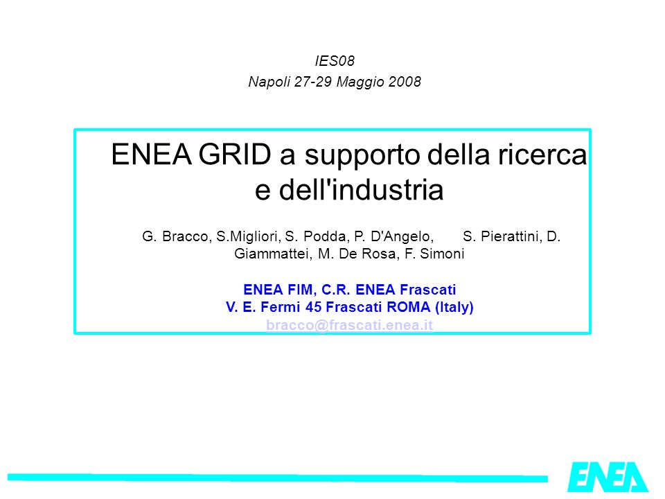 Il Sistema Modellistico MINNI Matrici di Trasferimento Atmosferico Proiezioni delle emissioni AMS: Atmospheric Modelling System AMS-ItaliaRAINS-Italia RAINS: Regional Acidification INformation Simulation