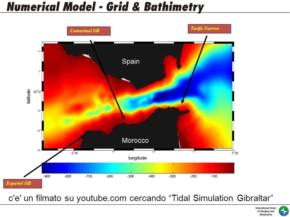 Tarifa Narrow Camarinal Sill Espartel Sill c'e' un filmato su youtube.com cercando Tidal Simulation Gibraltar