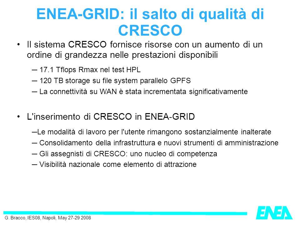 ENEA-GRID: il salto di qualità di CRESCO G.