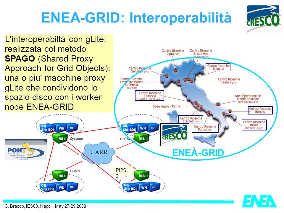ENEA-GRID e la Ricerca G.