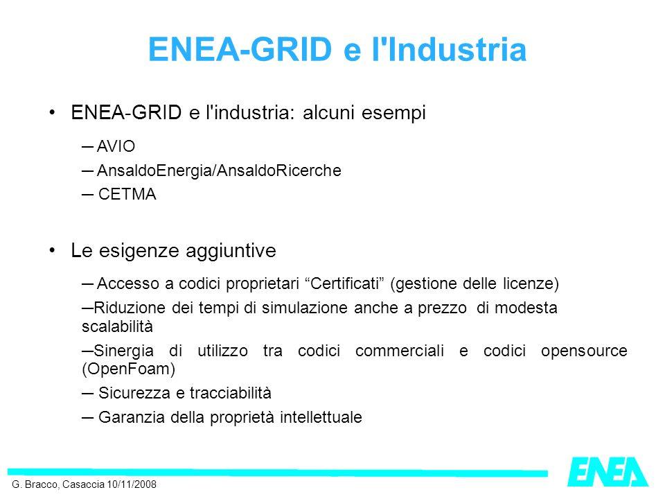 ENEA-GRID e l Industria G.