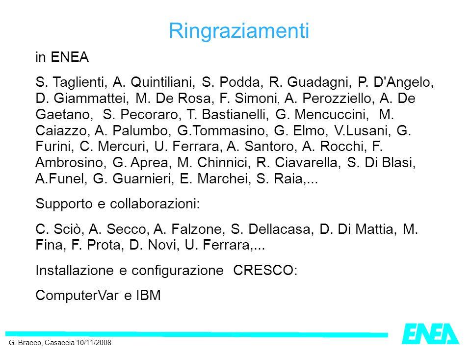 in ENEA S. Taglienti, A. Quintiliani, S. Podda, R.