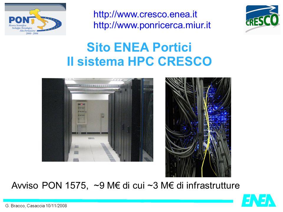 Sito ENEA Portici Il sistema HPC CRESCO G.