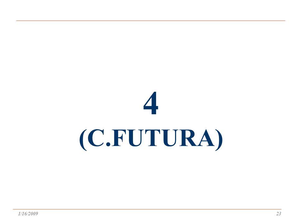 4 (C.FUTURA) 1/16/200923