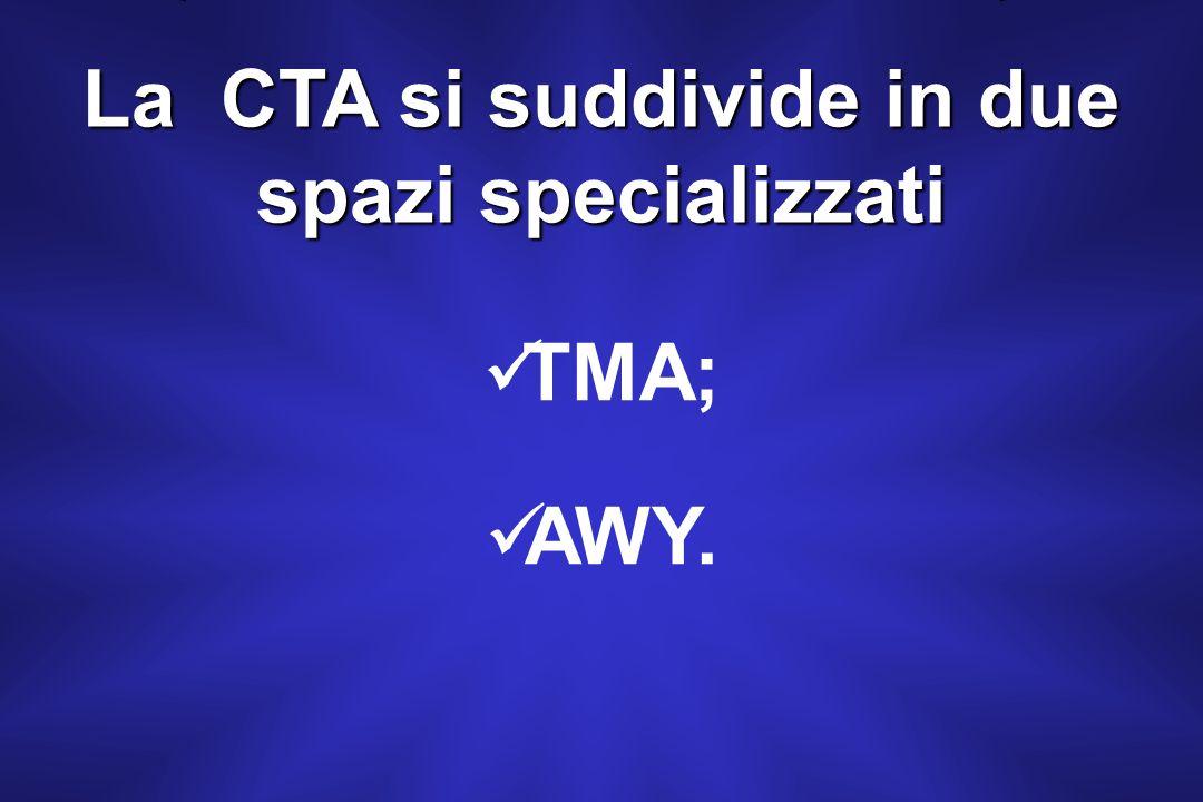 In Italia è presente la CTA solamente nello spazio aereo superiore (UTA) a partire da FL 195 escluso a FL 460 incluso.
