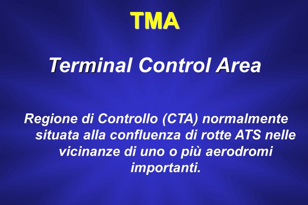 TMA; AWY. La CTA si suddivide in due spazi specializzati