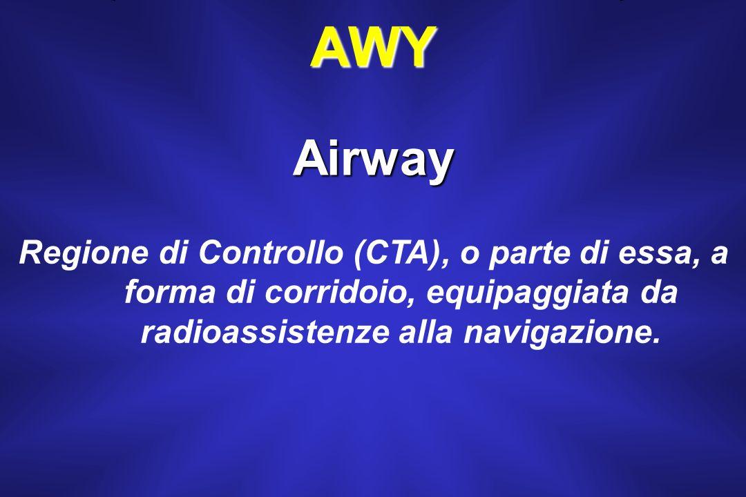 TMA Regione di Controllo (CTA) normalmente situata alla confluenza di rotte ATS nelle vicinanze di uno o più aerodromi importanti.