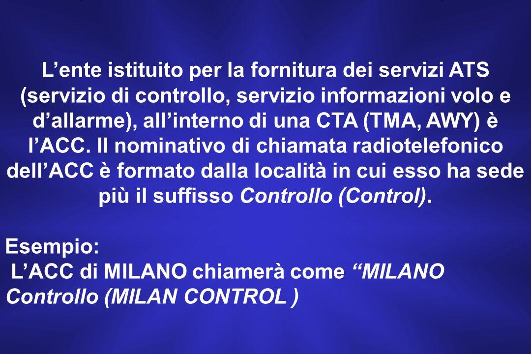 Tali strutture in Italia sono presenti nello spazio aereo inferiore.