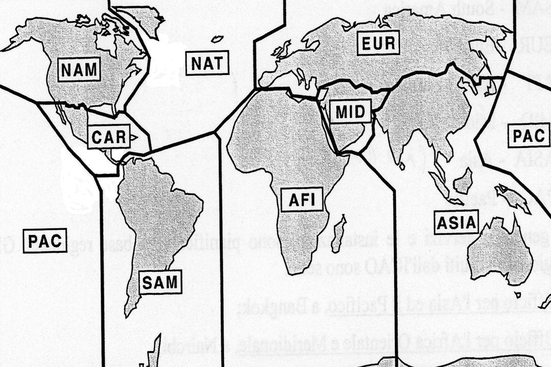 AWY Regione di Controllo (CTA), o parte di essa, a forma di corridoio, equipaggiata da radioassistenze alla navigazione.
